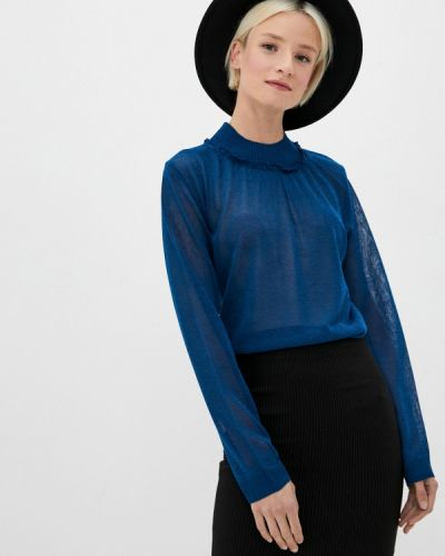 Синий джемпер Sisley
