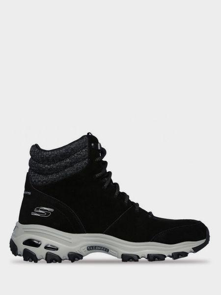 Брендовые текстильные ботинки Skechers