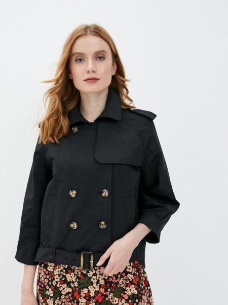 Куртка черная весенняя снежная королева