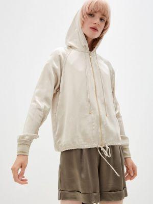 Бежевая облегченная куртка Lusio