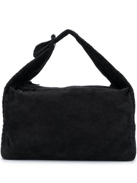 Черная сумка на молнии Bottega Veneta Pre-owned