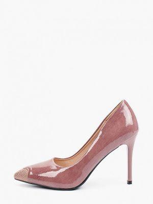 Розовые зимние туфли Diora.rim