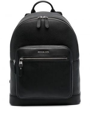 Черная сумка на плечо из натуральной кожи с карманами Michael Kors Collection