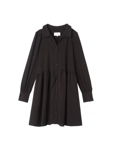 Платье макси длинное - черное Sud Express