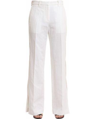 Хлопковые брюки - белые Calvin Klein Collection