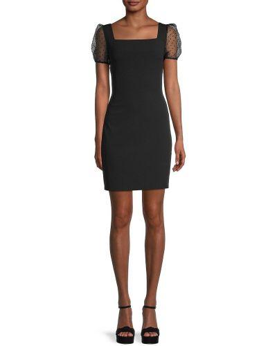Черное купальное платье с вышивкой сетчатое Bcbgeneration
