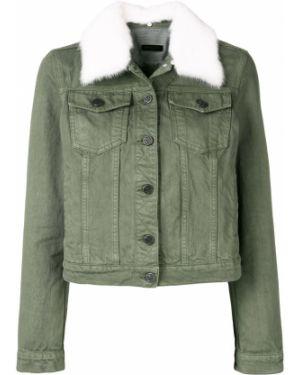 Джинсовая куртка на пуговицах Simonetta Ravizza
