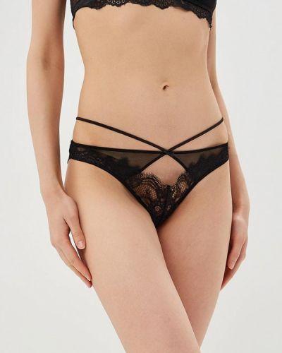 Черные трусы-слипы Women'secret