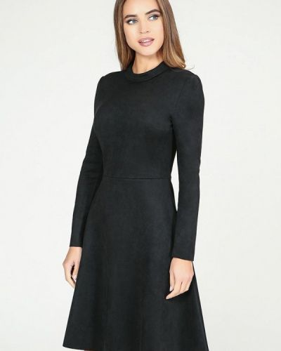 Платье осеннее черное Kotis Couture