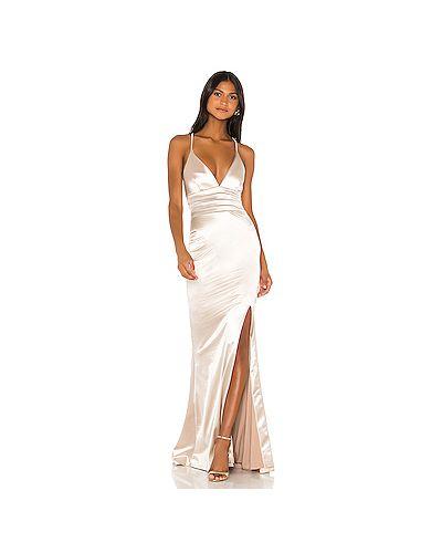 Вечернее платье на бретелях на молнии Nookie