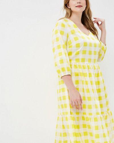 Летнее платье желтый Matilda