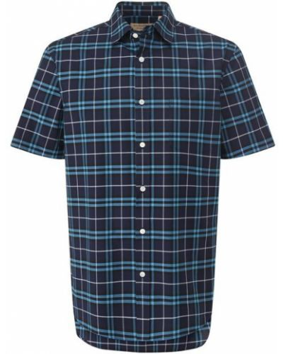 Рубашка с короткими рукавами джинсовая прямая Burberry