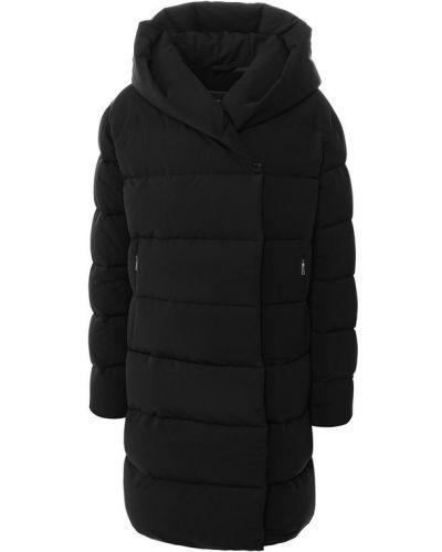 Куртка с капюшоном утепленная черная Add