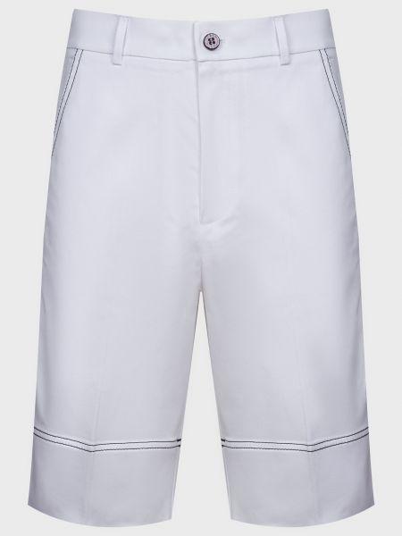 Хлопковые шорты - белые Ice Play