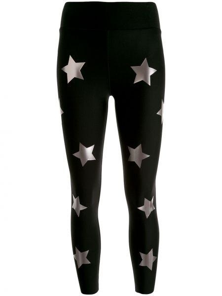 Со звездами нейлоновые черные спортивные брюки с поясом Ultracor