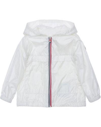 Biały bawełna bawełna kurtka Moncler