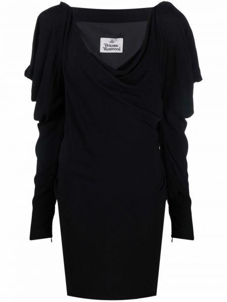 Платье макси длинное - черное Vivienne Westwood