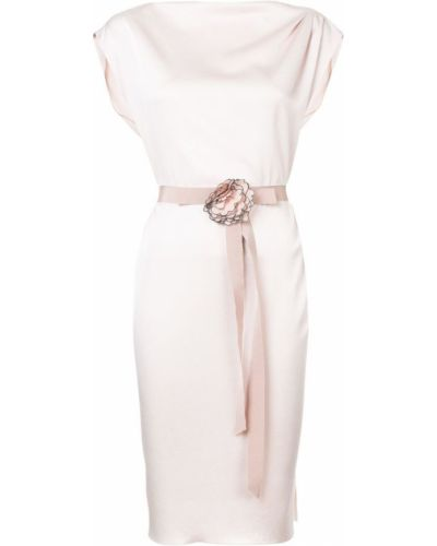 Платье миди с поясом прямое Paule Ka
