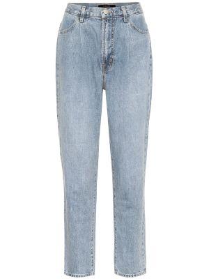 Укороченные джинсы в стиле бохо J Brand