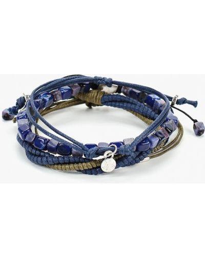 Синий браслет Mango Man