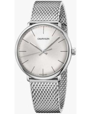Серебряные часы швейцарские Calvin Klein