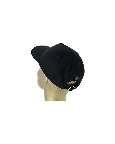Шерстяная кепка - черная Luca Della Lama