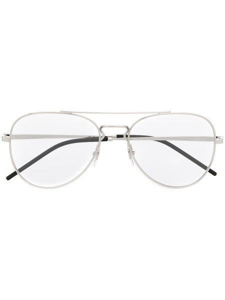 Prosto srebro oprawka do okularów metal Ray-ban