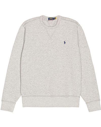 Światło bawełna bawełna koszulka polo z haftem Polo Ralph Lauren