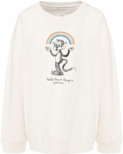 Пуловер - белый Mm6