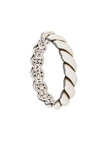 Bransoletka ze srebra srebro Gucci
