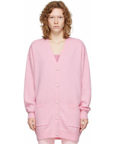 Różowy złoty sweter Givenchy