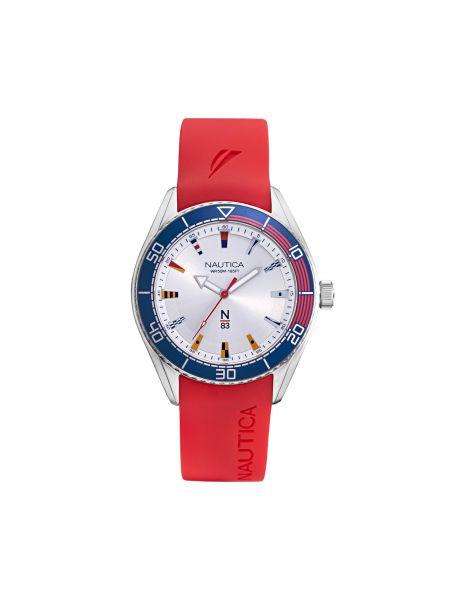 Zegarek - czerwony Nautica