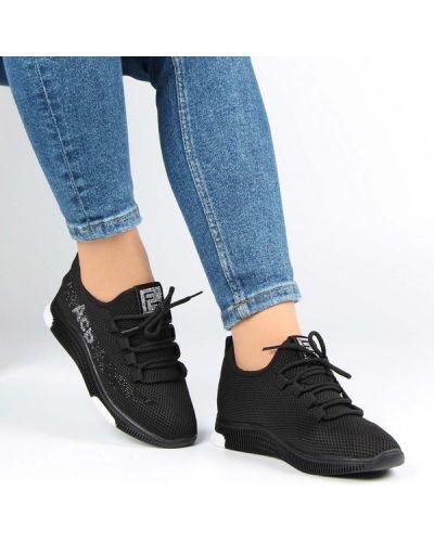 Текстильные кроссовки - черные Lifexpert