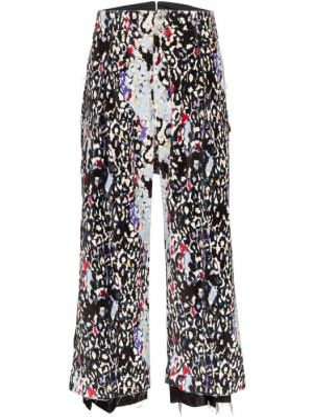 Czarne spodnie z wysokim stanem bawełniane Sulvam