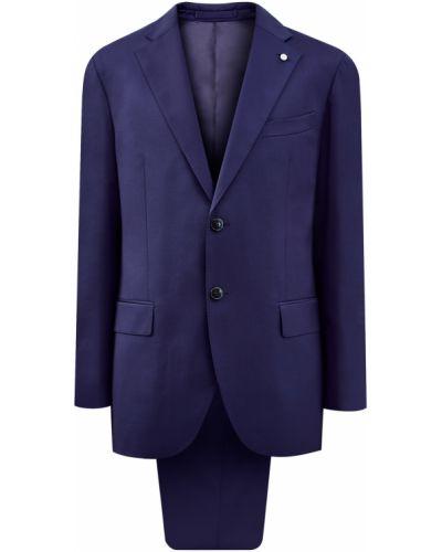 Деловой костюм - синий Lubiam