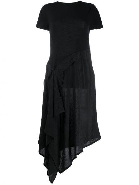 Платье мини миди с драпировкой Loewe