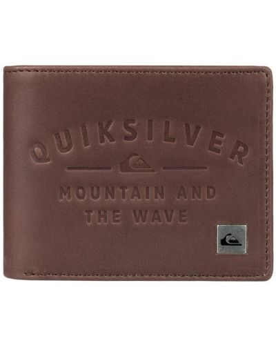 Коричневый кошелек Quiksilver