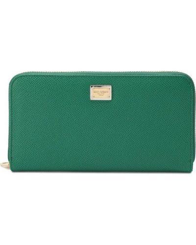 Зеленый кошелек Dolce & Gabbana