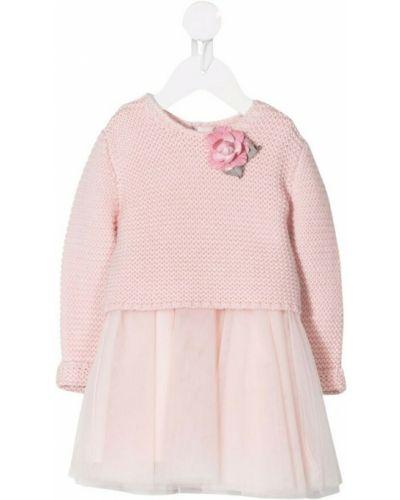 Różowa sukienka Monnalisa