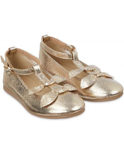 Туфли золотой Mothercare