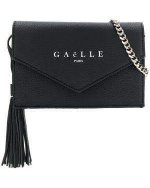 Сумка через плечо из полиэстера - черная Gaelle Bonheur