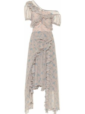 Платье миди с цветочным принтом модерн Preen By Thornton Bregazzi