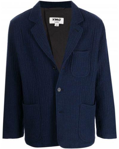 Niebieska kurtka wełniana Ymc