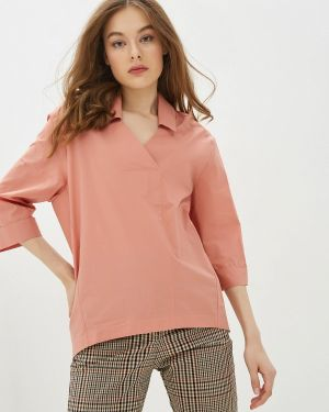 Блузка с длинным рукавом розовая Alpecora