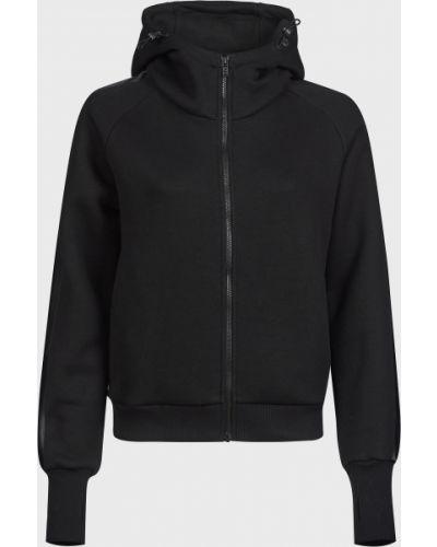 Хлопковая черная кофта на молнии Colmar Originals