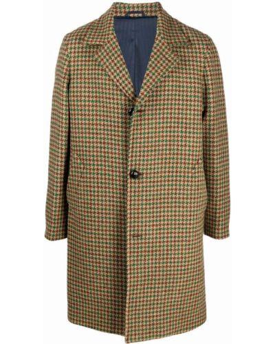 Beżowy płaszcz wełniany Mp Massimo Piombo