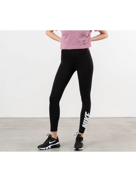 Спортивные брюки черные белые Nike