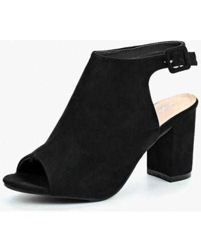 Босоножки на каблуке замшевые Style Shoes