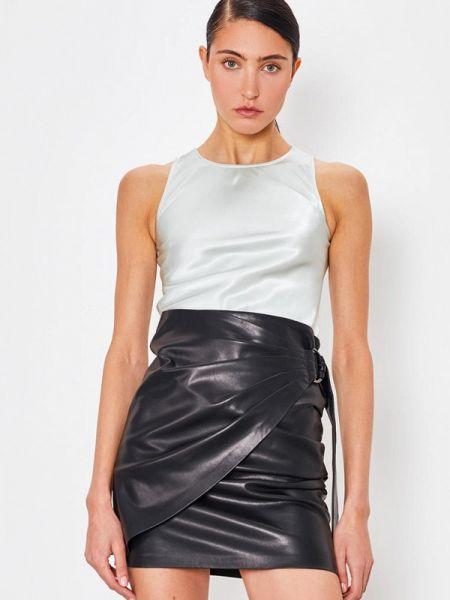 Блузка без рукавов серебряный весенний Lime