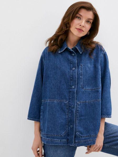 Джинсовая куртка - синяя Pantamo